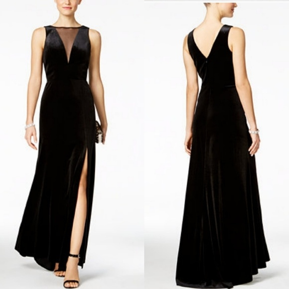 0de58b81dab Night Way Collections Dresses | Nightway Velvet Cocktail Gown | Poshmark